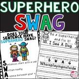 Be a sentence superhero and fix it! [A sentence fixer product]