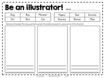 Be an Illustrator Handout
