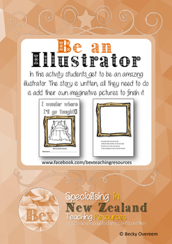 Be an Illustrator - Lets go to the beach