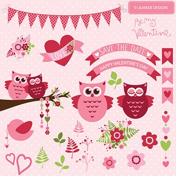 Be my Valentine vector clip arts