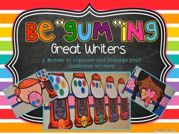 "Be""Gum""ing Great Writers"
