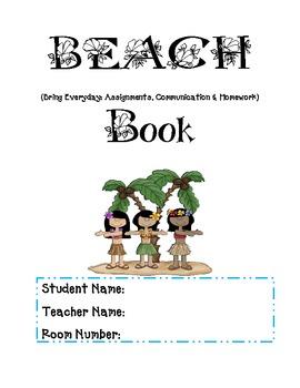 Beach Binder Organizer