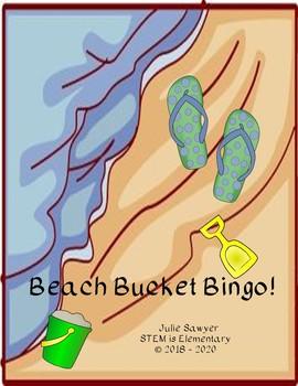 Beach Bucket Bingo!