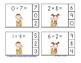 Beach Buddies Addition Math Centers (Sums of 0-10)