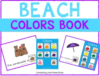 Beach Color Books (Adapted Books)