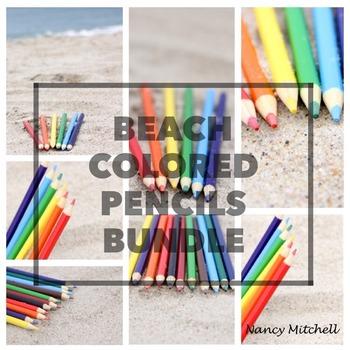 Beach Colored Pencils Bundle