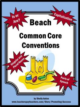 Beach Theme Literacy Activities for Spring or Summer School