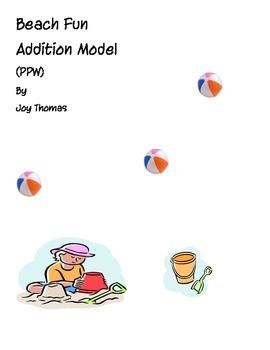 Beach Fun Addition Model - Part Part Whole