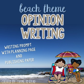 Beach Opinion Writing