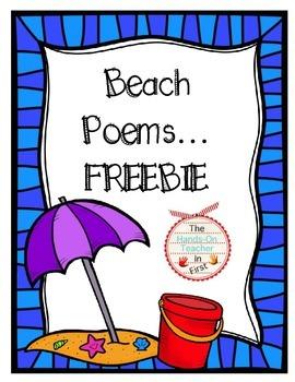 Beach Poems Freebie