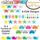 Beach / Summer Set: Clip Art Graphics for Teachers