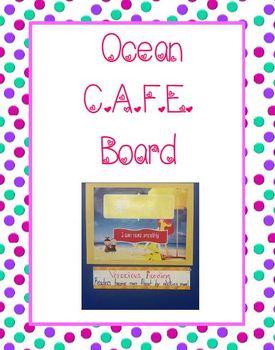 Beach Theme-CAFE Signs