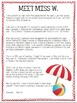 Beach Theme Classroom Parent Handbook