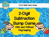 Beach Themed 2 Digit Subtraction With & Without Regrouping
