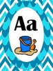 Beach Themed Classroom Alphabet