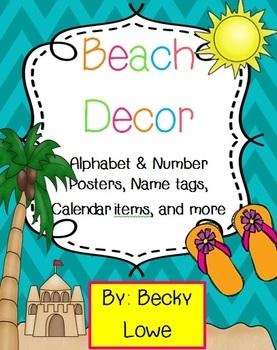 Beach Themed Classroom Decor