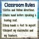 Beach Themed Classroom Rules