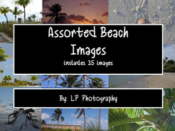Beach Themed Images for Personal & Commercial Use