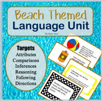 Beach Themed Language Unit