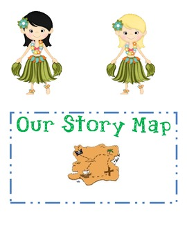 Beach Themed Story Map Poster