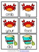 Beach Time Sentence Scramble Freebie