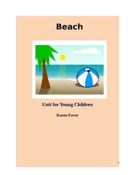 Beach Unit for Young Children