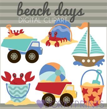 Beach and Summer Clip Art