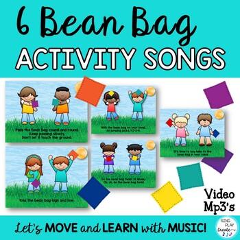 Bean Bag Activity Songs Pre-K-6