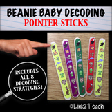 Beanie Baby Decoding Strategy Pointer Sticks