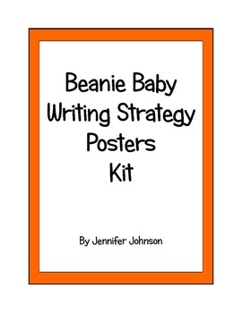 Beanie Baby Writing Process Posters