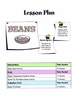 Beans Lesson
