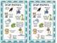 Beany Baby Decoding Bookmarks