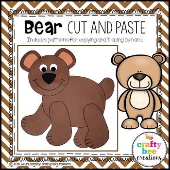 Bear Cut and Paste