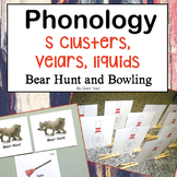 Bear Hunt and Bowling for Phonology: S Clusters, Velars, a
