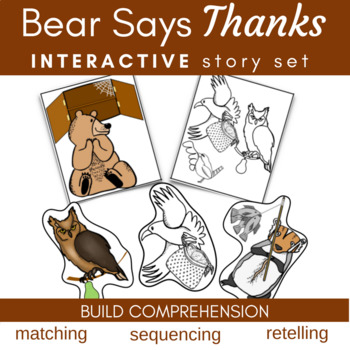 Bear Says Thanks Literature Link (Storytelling, Sequencing