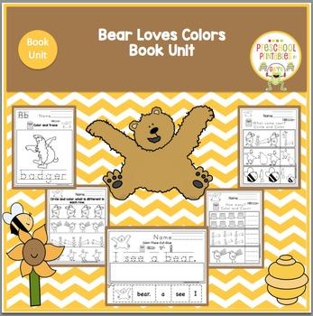 Bear Sees Color Book Unit