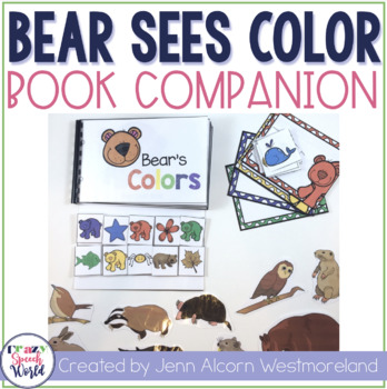 Bear Sees Colors:  Speech & Language Activities