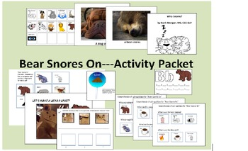 Bear Snores On---Activity and Companion Pack for Special E