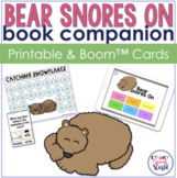 Bear Snores On:  Speech & Language Activities