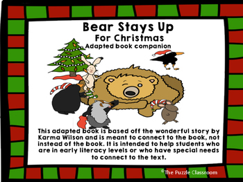 Bear Stays Up for Christmas adapted book