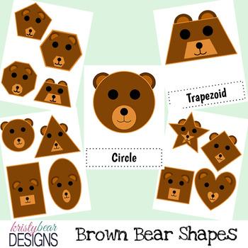 Shape Posters - Bear Theme