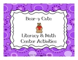 Bear Themed  Literacy & Math Activities