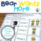 Bear Wants More Speech and Language Book Companion