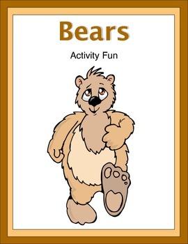 Bears Activity Fun