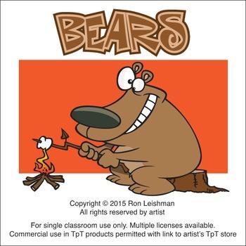 Bears Cartoon Clipart