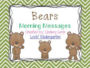 Bears - Morning Messages