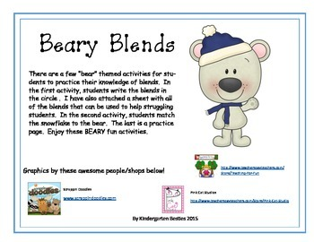 Beary Blends