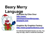 Beary Merry Language