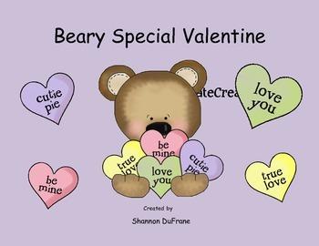 Beary Special Valentine Kinder Skills