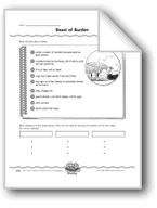 Beast of Burden (Subtopics/Informational Paragraphs)